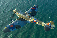 MkXVI Spitfire <br /> photo John Dibbs<br /> Spitfire (2018)<br /> *Filmstill - Editorial Use Only*<br /> CAP/PLF<br /> Image supplied by Capital Pictures