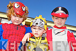 COSTUMES: Taking part in the World Book Day pageant at Ballyduff Central School last Thursday, l-r: Tadhg O'Connor, Ricky O'Brien, Rory Whelan.