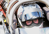 Apr. 15, 2012; Concord, NC, USA: NHRA top fuel dragster driver Steve Torrence during the Four Wide Nationals at zMax Dragway. Mandatory Credit: Mark J. Rebilas-