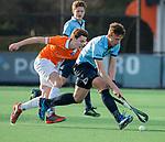 BLOEMENDAAL  -  Mart Leempoel (Nijmegen) , competitiewedstrijd junioren  landelijk  Bloemendaal JA1-Nijmegen JA1 (2-2) . COPYRIGHT KOEN SUYK