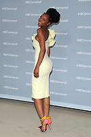 NEW YORK, NY - MAY 14: Yaya DaCosta at the 2018 NBCUniversal Upfront at Rockefeller Center in New York City on May 14, 2018.  <br /> CAP/MPI/PAL<br /> &copy;PAL/MPI/Capital Pictures