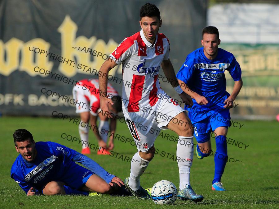 Fudbal Kup Srbije season 2015-2016<br /> Backa v Crvena Zvezda<br /> Marko Grujic (R)<br /> Backa Palanka, 28.10.2015.<br /> foto: Srdjan Stevanovic/Starsportphoto&copy;