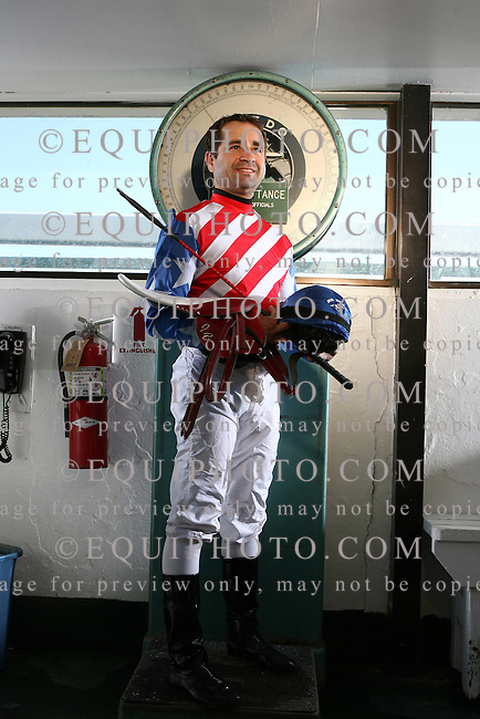 Jockey Joe Bravo at Monmouth Park in Oceanport, N.J. on Saturday June 30, 2007.   Photo By Bill Denver/EQUI-PHOTO