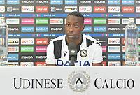 Udine 9 Settembre 2019. Udinese Calcio 2019-2020.  Presentazione Okaka. © Foto Petrussi