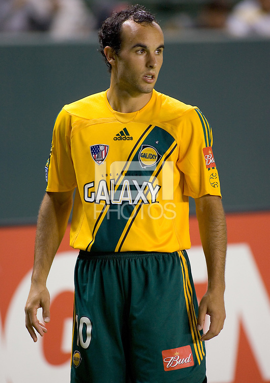 Galaxy Fwd Landon Donovan (10) during a quarterfinal US Open Cup 2006 game against the Colorado Rapids. LA beat Colorado 3-1 in extra time at the Home Depot Center in Carson, CA Wednesday, August 23, 2006.