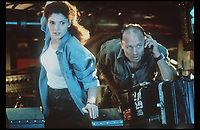 The Abyss (1989) <br /> Ed Harris &amp; Mary Elizabeth Mastrantonio<br /> *Filmstill - Editorial Use Only*<br /> CAP/KFS<br /> Image supplied by Capital Pictures