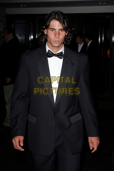RAFAEL NADAL.The Wimbledon Champions Dinner at Hotel Intercontinental, Park Lane, London, England..6th July 2008.winners ball tennis half length dinner suit tuxedo black tie .CAP/AH.©Adam Houghton/Capital Pictures.