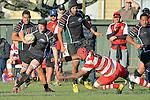 Division 1 WOB v Kahurangi, Jubilee Park, Richmond, Nelson, New Zealand. Saturday 31 May 2014. Photo: Barry Whitnall/www.shuttersport.co.nz