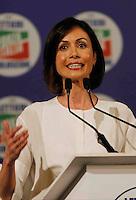 Manifestazione elettorale di Forza Italia a sostegno del candidato sindaco del centrodestra nelle prossime elezioni amministrative<br /> Mara Carfagna