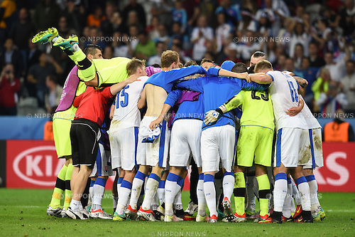 Final Joy Group (Slovakia) ; <br /> June 15, 2016 - Football : Uefa Euro France 2016, Group B, Russia 1-2 Slovakia at Stade Pierre Mauroy, Lille Metropole, France. (Photo by aicfoto/AFLO)