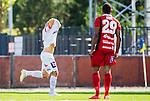 S&ouml;dert&auml;lje 2015-08-01 Fotboll Superettan Assyriska FF - &Ouml;stersunds FK :  <br /> Assyriskas Fredrik Holster firar sitt 2-0 m&aring;l under matchen mellan Assyriska FF och &Ouml;stersunds FK <br /> (Foto: Kenta J&ouml;nsson) Nyckelord:  Assyriska AFF S&ouml;dert&auml;lje Fotbollsarena Superettan &Ouml;stersund &Ouml;FK jubel gl&auml;dje lycka glad happy