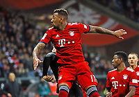 Jerome Boateng (FC Bayern Muenchen) - 22.12.2018: Eintracht Frankfurt vs. FC Bayern München, Commerzbank Arena, DISCLAIMER: DFL regulations prohibit any use of photographs as image sequences and/or quasi-video.