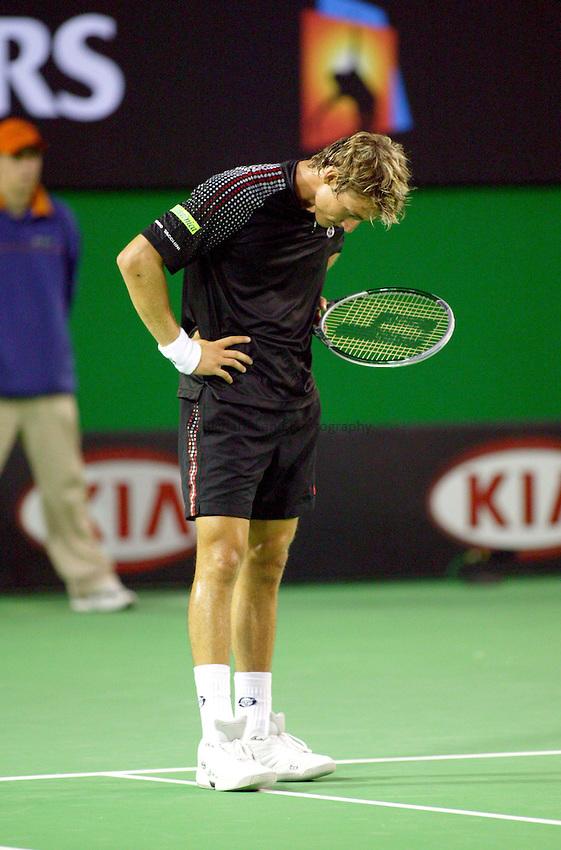 Juan Carlos Ferrero, Australian Tennis Open 2004, Melbourne, Australia