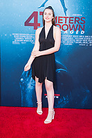 Los Angeles, CA - AUGUST 13th: <br /> brooke elizabeth butler attends the 47 Meters Down: Uncaged premiere at the Regency Village Theater on August 13th 2019. Credit: Tony Forte/MediaPunch