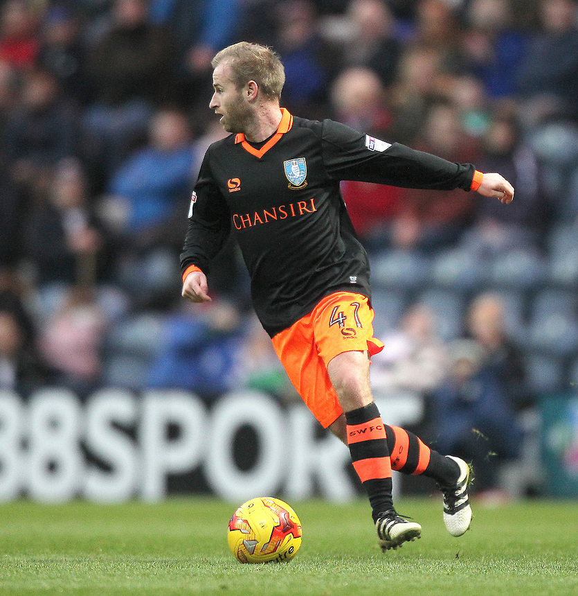 Sheffield Wednesday's Barry Bannan<br /> <br /> Photographer Mick Walker/CameraSport<br /> <br /> The EFL Sky Bet Championship - Preston North End v Sheffield Wednesday - Saturday 31st December 2016 - Deepdale - Preston<br /> <br /> World Copyright &copy; 2016 CameraSport. All rights reserved. 43 Linden Ave. Countesthorpe. Leicester. England. LE8 5PG - Tel: +44 (0) 116 277 4147 - admin@camerasport.com - www.camerasport.com