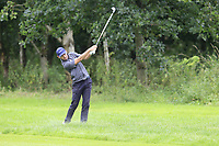 Ross Kellett (SCO) plays his 2nd shot from the rough on the 3rd hole during Sunday's Final Round of the Northern Ireland Open 2018 presented by Modest Golf held at Galgorm Castle Golf Club, Ballymena, Northern Ireland. 19th August 2018.<br /> Picture: Eoin Clarke | Golffile<br /> <br /> <br /> All photos usage must carry mandatory copyright credit (&copy; Golffile | Eoin Clarke)
