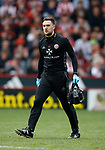 Ed Owens Sheffield Utd physio during the English League One match at  Bramall Lane Stadium, Sheffield. Picture date: April 30th 2017. Pic credit should read: Simon Bellis/Sportimage