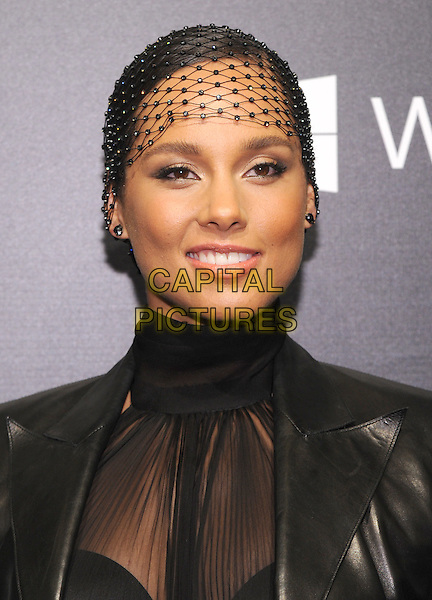 NEW YORK, NY - NOVEMBER 05:  Alicia Keys attends the 2015 'Keep A Child Alive' Black Ball at Hammerstein Ballroom on November 5, 2015 in New York City.<br /> CAP/MPI/STV<br /> &copy;STV/MPI/Capital Pictures