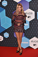 Laura Whitmore<br /> 2016 MTV EMAs in Ahoy Arena, Rotterdam, The Netherlands on November 06, 2016.<br /> CAP/PL<br /> &copy;Phil Loftus/Capital Pictures /MediaPunch ***NORTH AND SOUTH AMERICAS ONLY***