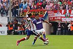 Atletico de Madrid´s  and Espanyol´s Fuentes during 2014-15 La Liga Atletico de Madrid V Espanyol match at Vicente Calderon stadium in Madrid, Spain. October 19, 2014. (ALTERPHOTOS/Victor Blanco)