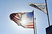 IMSA WeatherTech SportsCar Championship<br /> AMERICA'S TIRE 250<br /> Mazda Raceway Laguna Seca<br /> Monterey, CA USA<br /> Sunday 24 September 2017<br /> American Flag<br /> World Copyright: Richard Dole<br /> LAT Images<br /> ref: Digital Image RD_LS_17_300