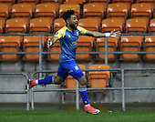 18-12-2018  FAC2 Replay Blackpool v Solihull Moor<br /> <br /> Adi Yussuf, celebrates his Solihull Moor goal, 2-1.