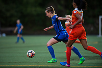 Seattle, WA - Saturday April 22, 2017: Beverly Yanez during a regular season National Women's Soccer League (NWSL) match between the Seattle Reign FC and the Houston Dash at Memorial Stadium.