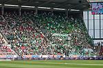 12.05.2018, OPEL Arena, Mainz, GER, 1.FBL, 1. FSV Mainz 05 vs SV Werder Bremen<br /> <br /> im Bild<br /> G&auml;stefanblock mit Werder Fans, Fahnen, <br /> <br /> Foto &copy; nordphoto / Ewert
