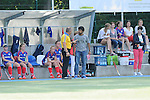 Mannheim, Germany, September 27: During the 1. Bundesliga Damen Saison 2014/15 field hockey match between Mannheimer HC and TSV Mannheim on September 27, 2014  Mannheimer Hockey Club in Mannheim, Germany. Final score 3-3 (2-3). (Photo by Dirk Markgraf / www.265-images.com) *** Local caption ***