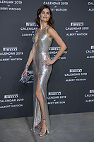 """Isabeli Fontana attends the gala night for official presentation of the Presentation of the Pirelli Calendar 2019 """"The cal"""" held at the Hangar Bicocca. Milan (Italy) on december 5, 2018. Credit: Action Press/MediaPunch ***FOR USA ONLY***"""
