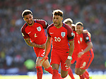 England's Alex Oxlade-Chamberlain celebrates scoring his sides opening goal during the FIFA World Cup Qualifying match at Hampden Park Stadium, Glasgow Picture date 10th June 2017. Picture credit should read: David Klein/Sportimage