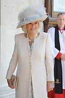 Prince Charles, Prince of Wales, President of the Victoria Cross and George Cross Association and Camilla, Duchess of Cornwall attend a Service at St Martin-in-the-Fields in support of the associations, London. May 15, 2018. Credit: Matrix/MediaPunch ***FOR USA ONLY***<br />