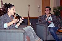 La actriz Ana Serradilla y el director Jos&eacute; Boj&oacute;rquez, dieron detalles de la cinta &quot;Luna escondida&quot;, grabada en escenarios de Veracruz y Costa Esmeralda. XALAPA13,NOV,2012.<br /> (Antonio Palacios/FOTOJAROCHA/NORTEPHOTO)
