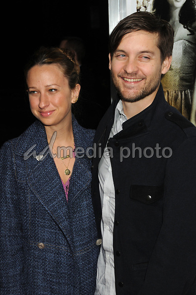 """14 December 2010 - Beverly Hills, California - Tobey Maguire and wife Jennifer Meyer. """"Country Strong"""" Los Angeles Special Screening held at The Academy of Motion Picture Arts & Sciences. Photo Credit: Byron Purvis/AdMedia"""