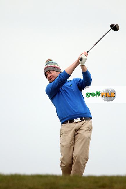 Tony O'Regan (Carton House) at the Hilary Golf Society at Seapoint Golf Club, Co.Louth...(Photo Jenny Matthews/www.golffile.ie)