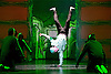 Into The Hoods: Remixed <br /> at The Peacock Theatre, London, Great Britain <br /> by ZooNation Dance Company <br /> press photocall <br /> 22nd October 2015 <br /> <br /> <br /> Corey Culverwell as Jaxx<br /> <br /> <br /> <br /> Photograph by Elliott Franks <br /> Image licensed to Elliott Franks Photography Services
