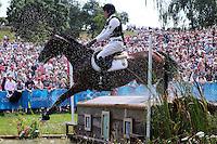 LONDRES, INGLATERRA, 30 JULHO 2012 - OLIMPIADAS 2012 - CROSS COUNTRY -  O atleta Dirk Schrade da Alemanha durante a prova do Cross Country nas  Olimpiadas de Londres, nesta segunda-feira, 30. (FOTO: PIXATHLON / BRAZIL PHOTO PRESS).