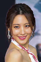 "HOLLYWOOD, LOS ANGELES, CA, USA - MARCH 13: Claudia Kim at the World Premiere Of Marvel's ""Captain America: The Winter Soldier"" held at the El Capitan Theatre on March 13, 2014 in Hollywood, Los Angeles, California, United States. (Photo by Xavier Collin/Celebrity Monitor)"