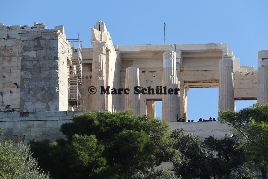 Akropolis - 23.11.2017: Athen mit der Costa Deliziosa