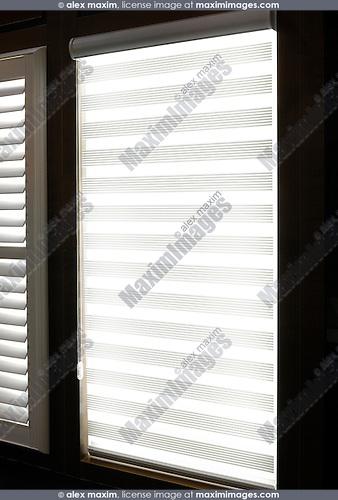 Contemporary folding window shades