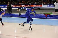 SCHAATSEN: HEERENVEEN: 28-12-2013, IJsstadion Thialf, KNSB Kwalificatie Toernooi (KKT), 500m, Anice Das, ©foto Martin de Jong