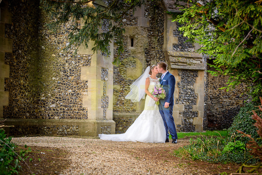 Church wedding in Benington, East Hertfordshire
