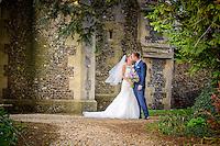 Church wedding in Benington, East Hertfordshire