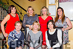 Full of Christmas cheer in Lord Kenmares restaurant on Saturday night were the staff of Dr Laura Malone and Breda O'Sullivan GP practice Killarney front row l-er: Maire Moynihan, Margaret Goulding, Breda O'Sullivan. Back row: Alison O'Shea, Diane Healy, Mary Buckley and Diane O'Leary