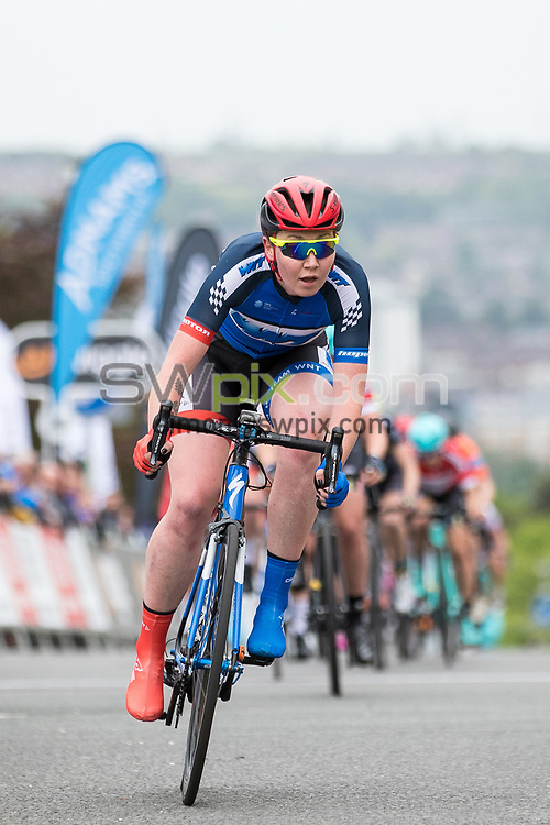 Picture by Alex Whitehead/SWpix.com - 23/05/2017 - Cycling - Tour Series Round 7, Motherwell - Matrix Fitness Grand Prix - WNT's Katie Archibald.