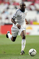 Lassana Diarra - 27.07.2012 - Benfica / Real Madrid - Coupe Eusebio ..Photo : Carlos Rodrigues / Icon Sport....