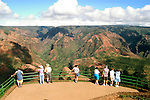 Hawaii: Kauai, at Waimea Canyon.  Photo hifree144.Photo copyright Lee Foster, 510/549-2202, lee@fostertravel.com, www.fostertravel.com