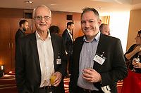 Steve Goodman (left) of Team of Equals with Andrew Nolan of the University of Nottingham