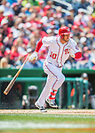 15 May 2016: Washington Nationals shortstop Stephen Drew in action against the Miami Marlins at Nationals Park in Washington, DC. The Marlins defeated the Nationals 5-1 in the final game of their 4-game series.  Mandatory Credit: Ed Wolfstein Photo *** RAW (NEF) Image File Available ***