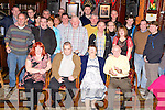 Denis O'Sullivan, Pinewood Estate, Killarney, seated second from left, pictured with some of his family and friends as he celebrated his 40th birthday in the Killarney Avenue Hotel on Friday night.  ....